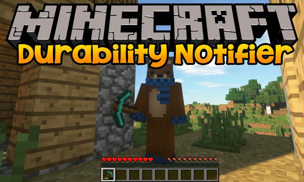 Durability Notifier mod for minecraft logo