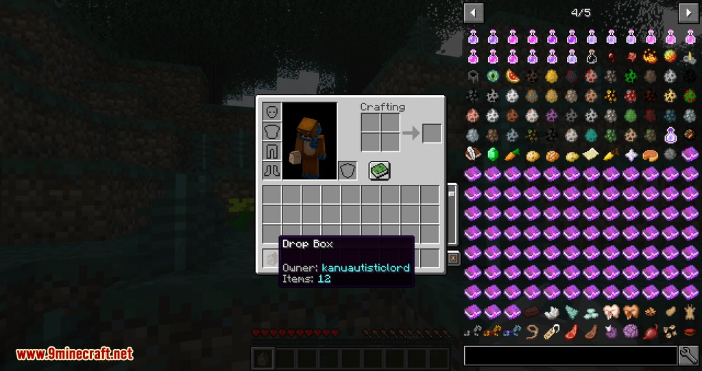 Expandable Inventory mod for minecraft 12