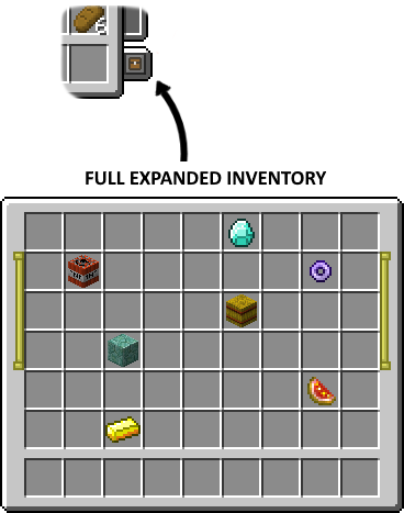 Expandable Inventory mod for minecraft 24