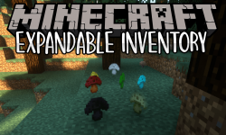 Expandable Inventory mod for minecraft logo