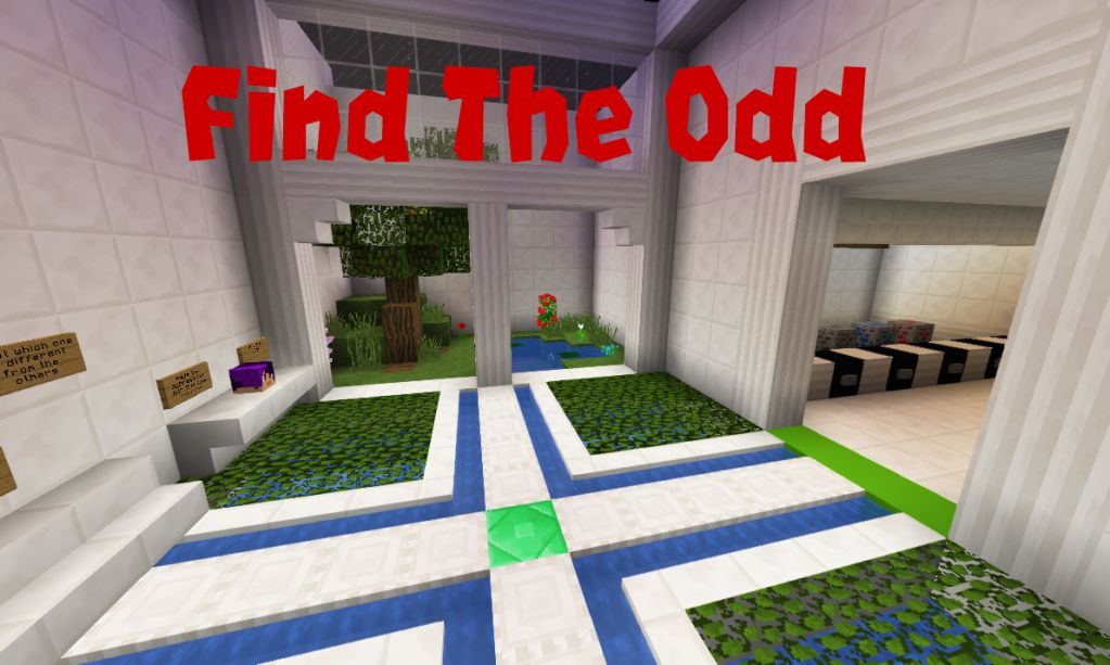 Find The Odd Map 1.13.2 for Minecraft