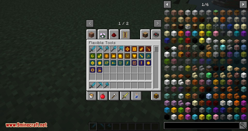 Flexible Tools mod for minecraft 02