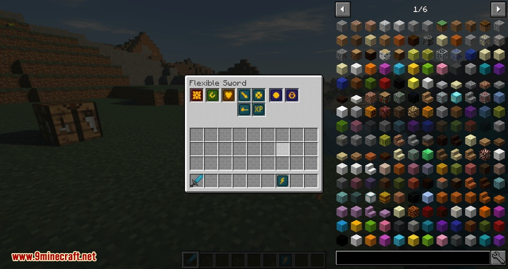 Flexible Tools mod for minecraft 04