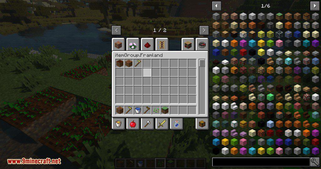 Framland mod for minecraft 09