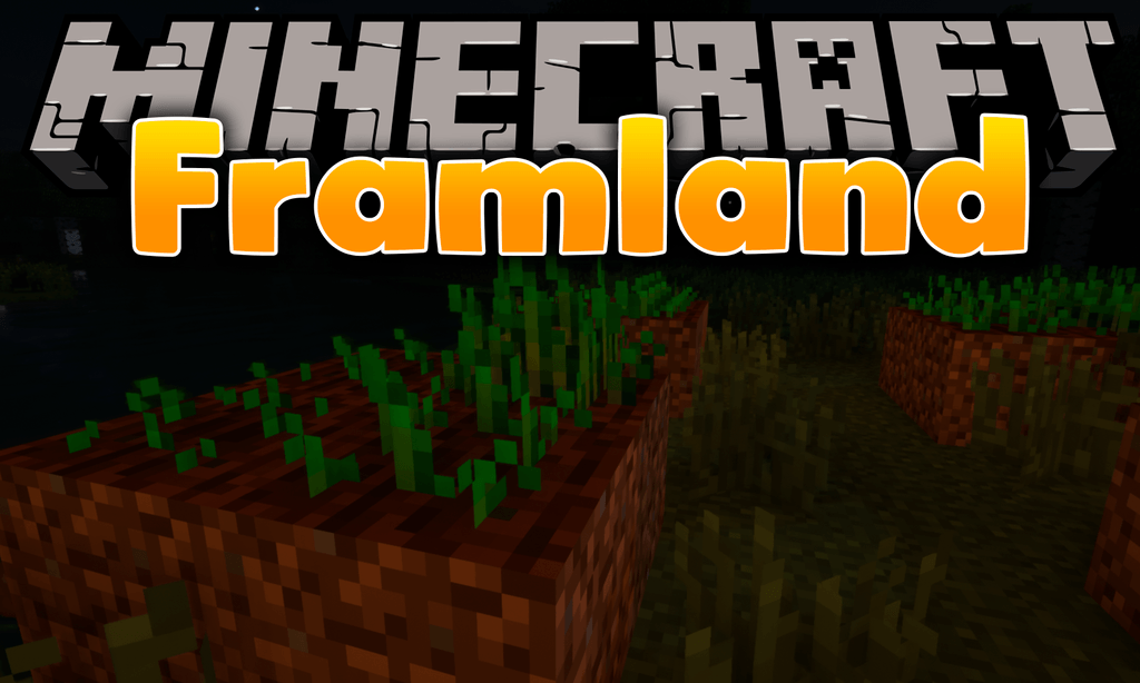 Framland mod for minecraft logo