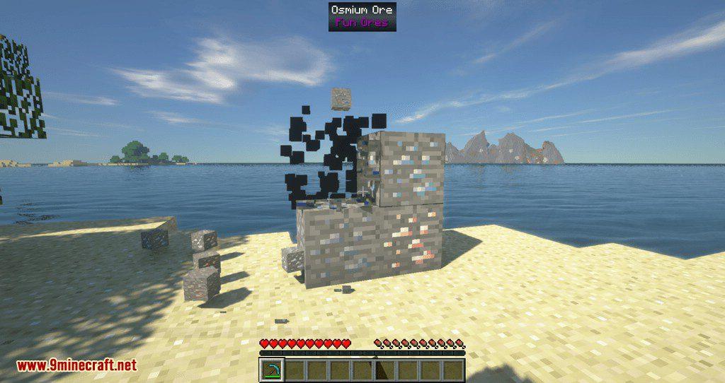 Fun Ores mod for minecraft 01