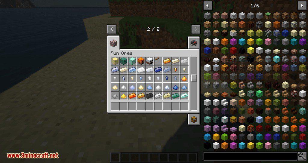 Fun Ores mod for minecraft 13