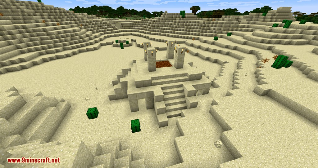 Genesis of Desolation mod for minecraft 01