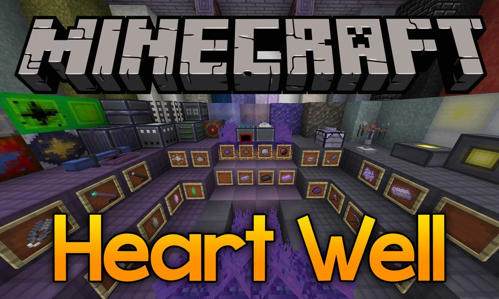 Hearth Well mod for minecraft logo