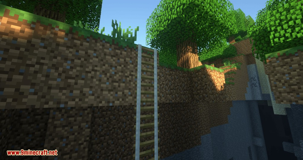 Just A Rope Ladder mod for minecraft 01