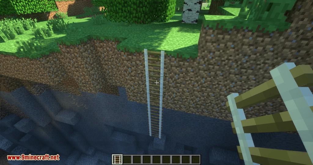 Just A Rope Ladder mod for minecraft 06