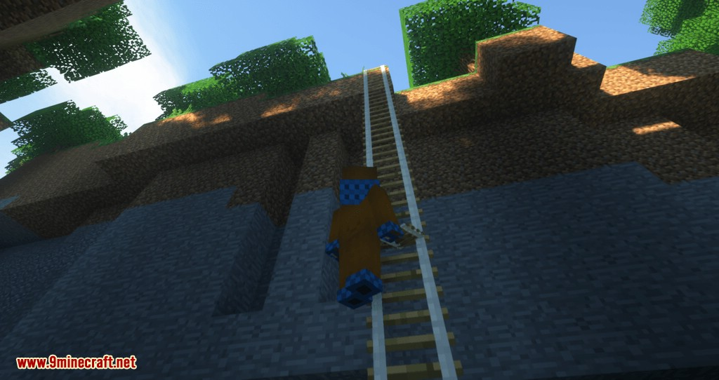 Just A Rope Ladder mod for minecraft 09