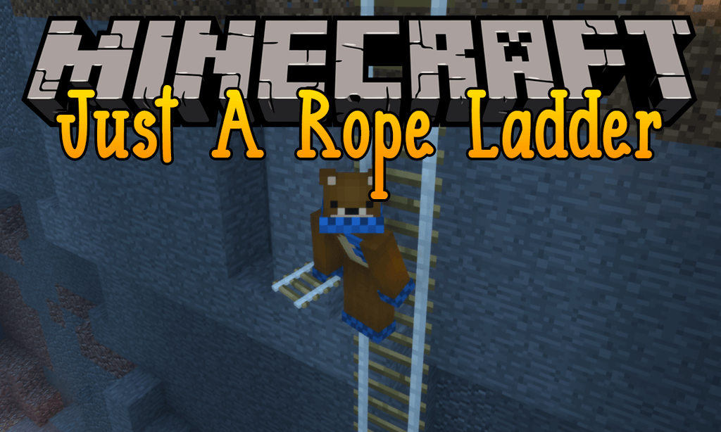 Just A Rope Ladder mod for minecraft logo