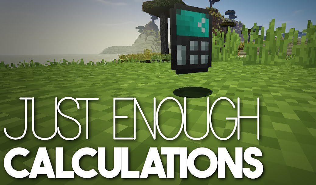 Just Enough Calculation Mod Logo
