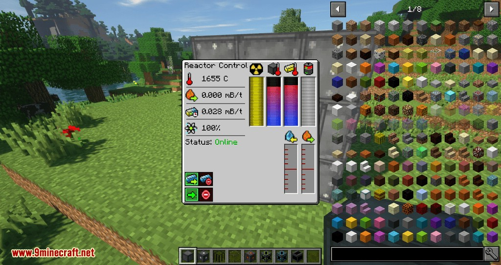 Just Enough Reactors mod for minecraft 02