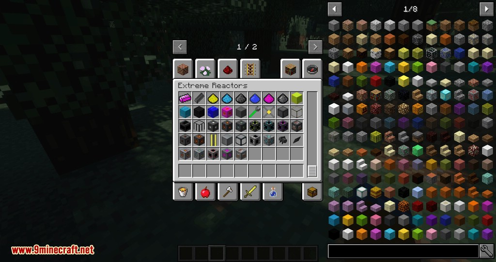 Just Enough Reactors mod for minecraft 05