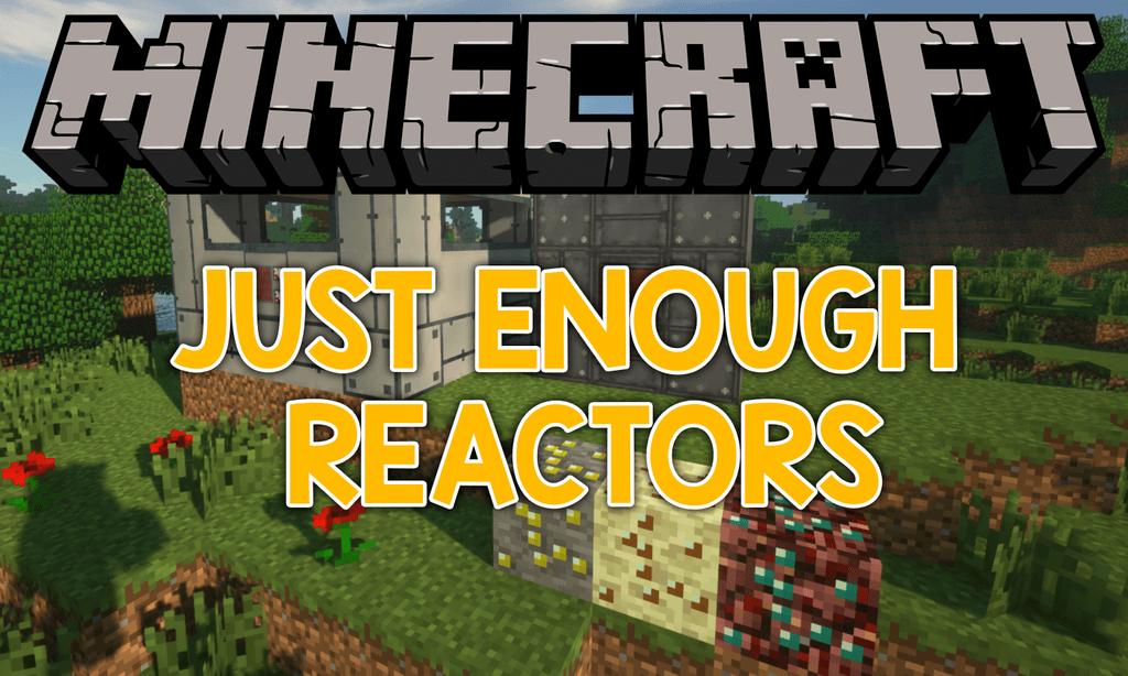 Just Enough Reactors mod for minecraft logo