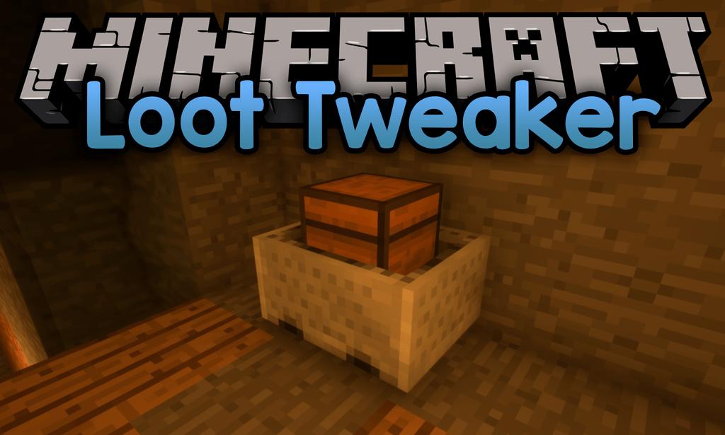 LootTweaker mod for minecraft logo