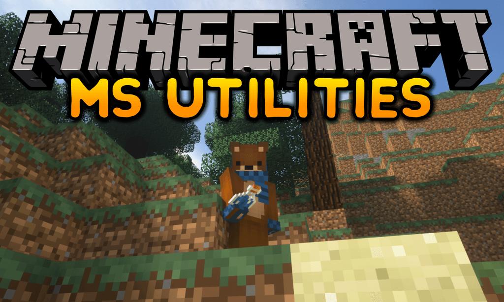 MS Utilities mod for minecraft logo