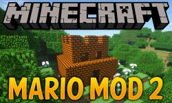 Mario Mod 2 mod for minecraft logo