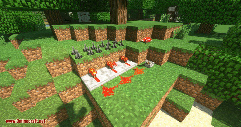 MineTraps mod for minecraft 09