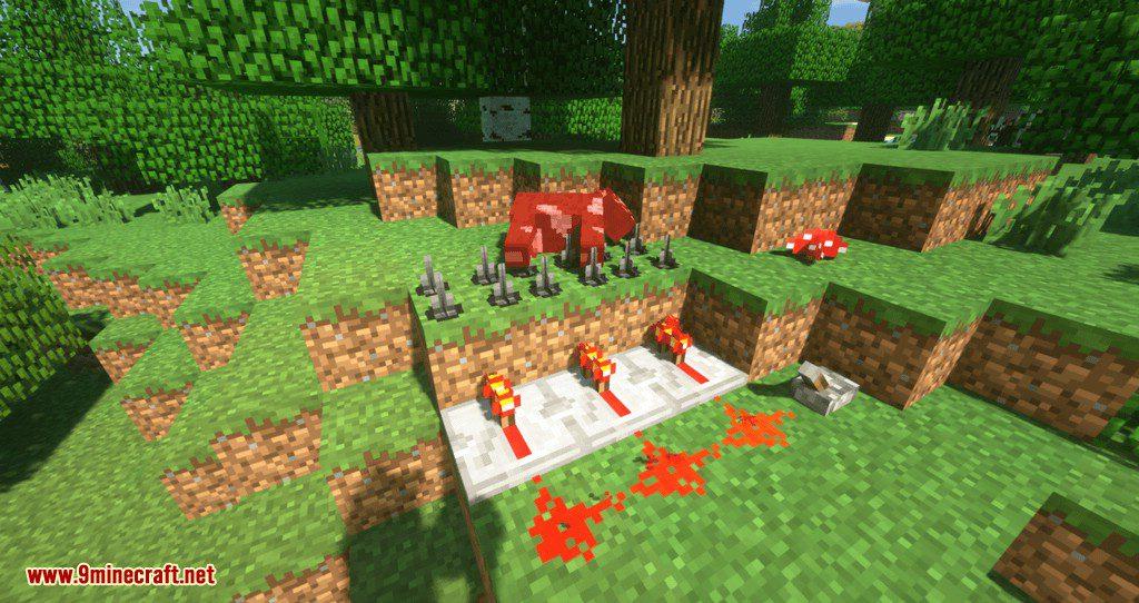 MineTraps mod for minecraft 10