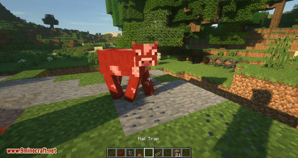MineTraps mod for minecraft 16
