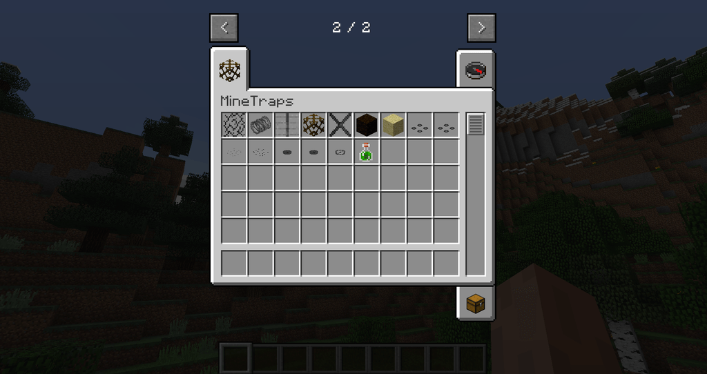 MineTraps mod for minecraft 29