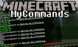 Mycommands mod for minecraft logo