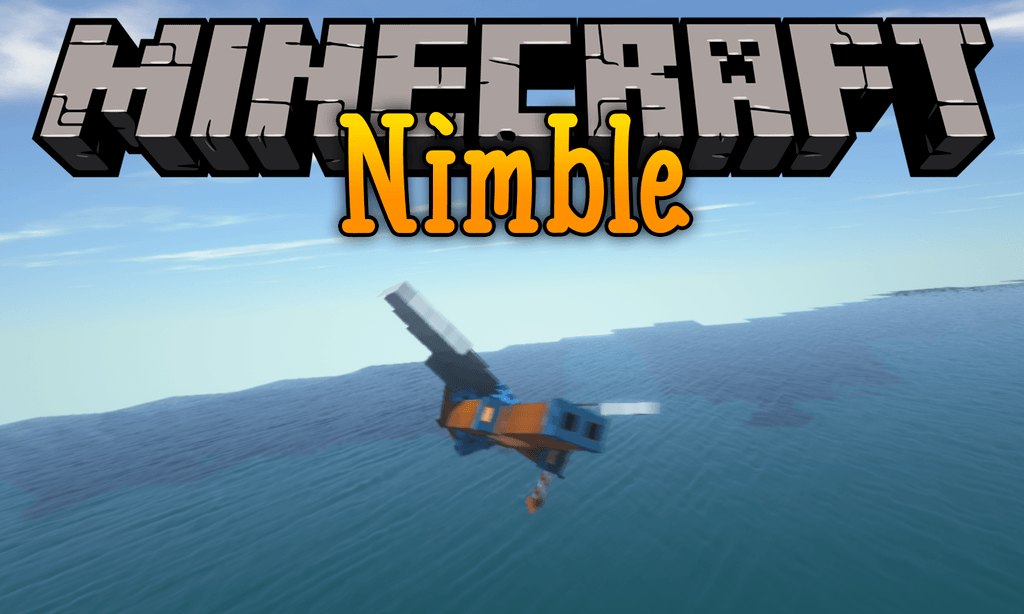 Nimble mod for minecraft logo