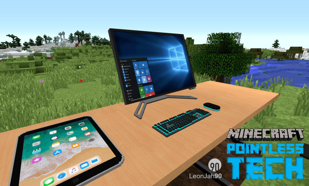 Pointless Tech mod for minecraft 25
