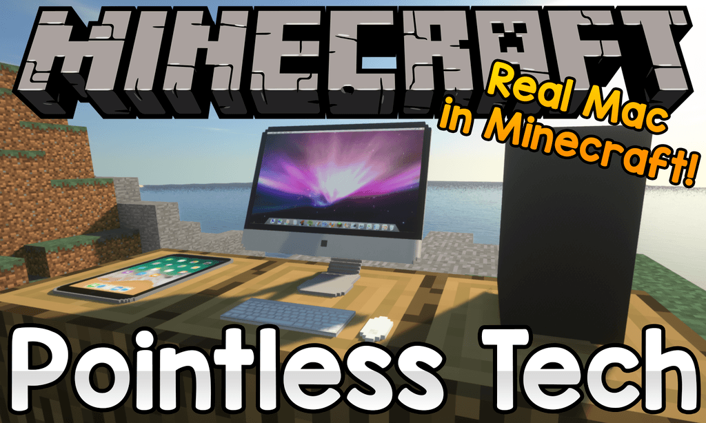 Pointless Tech mod for minecraft logo