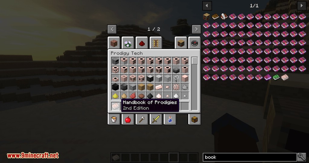 Prodigy Tech mod for minecraft 01