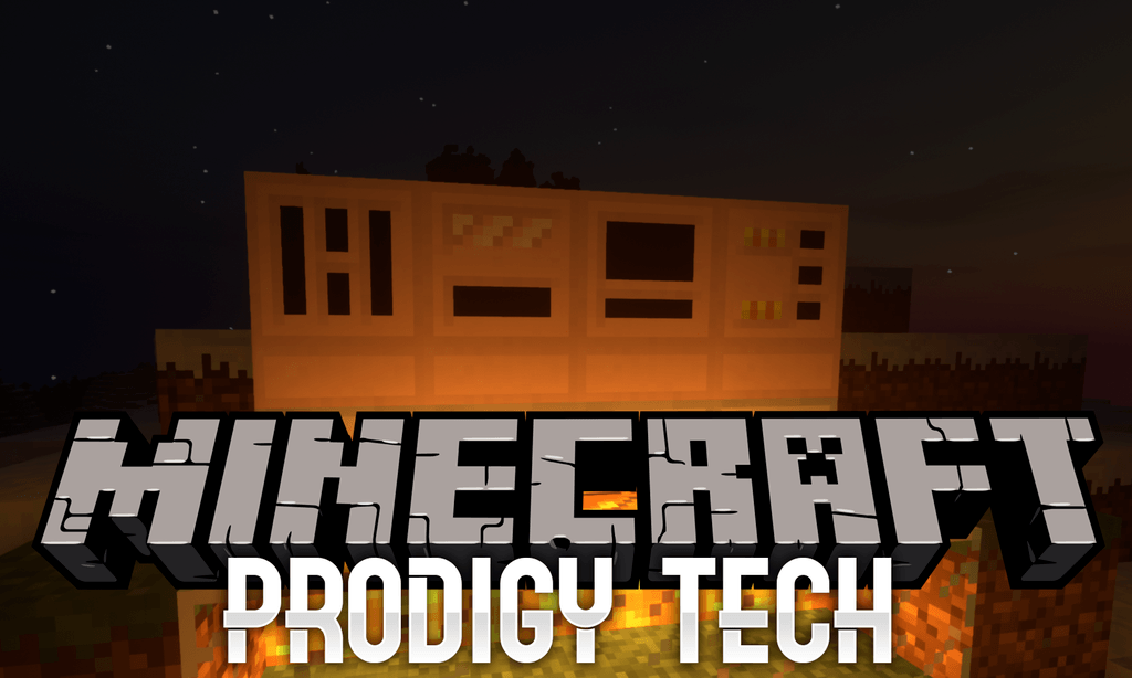 Prodigy Tech mod for minecraft logo