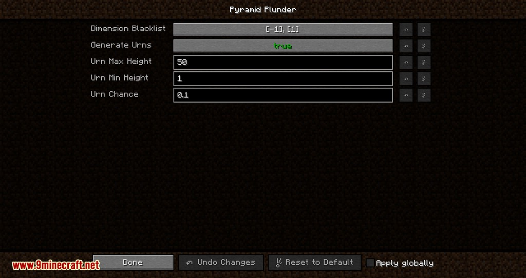 Pyramid Plunder mod for minecraft 12