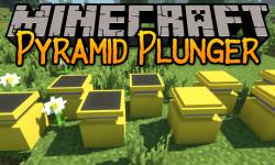 Pyramid Plunder mod for minecraft logo