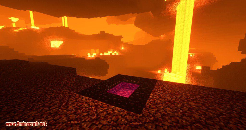 RandomPortals mod for minecraft 06