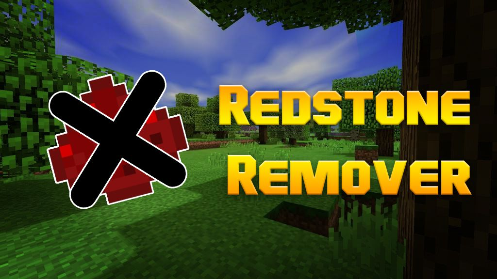 Redstone Remover Data Pack Thumbnail