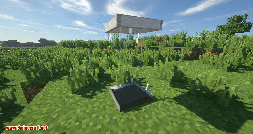 Sleeping Tubes mod for minecraft 01