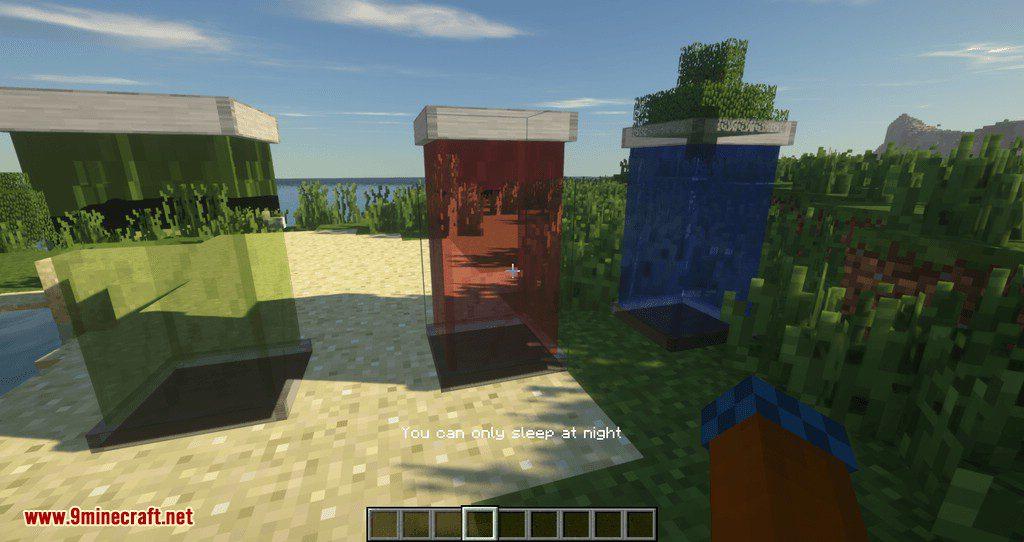 Sleeping Tubes mod for minecraft 06