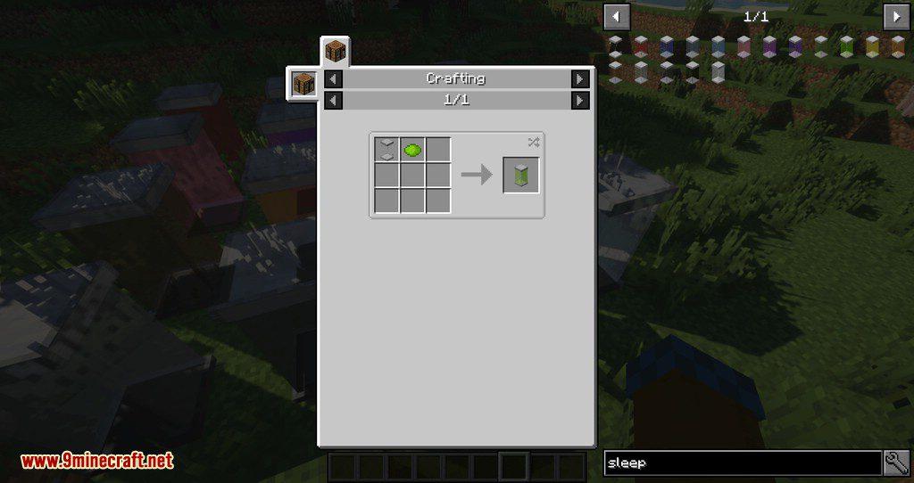 Sleeping Tubes mod for minecraft 11