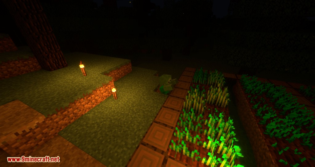 The Middle Torch mod for minecraft 04