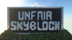 Unfair Skyblock Map Thumbnail