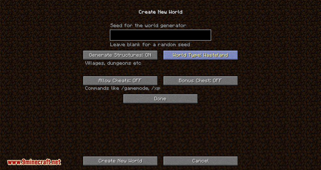 Wasteland Reborn mod for minecraft 03