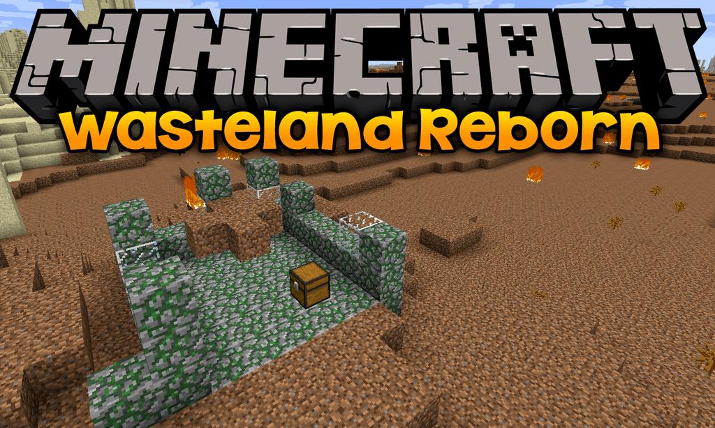 Wasteland Reborn mod for minecraft logo