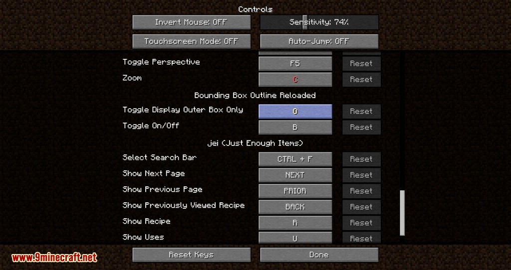 bounding box outline reloaded mod for minecraft 03
