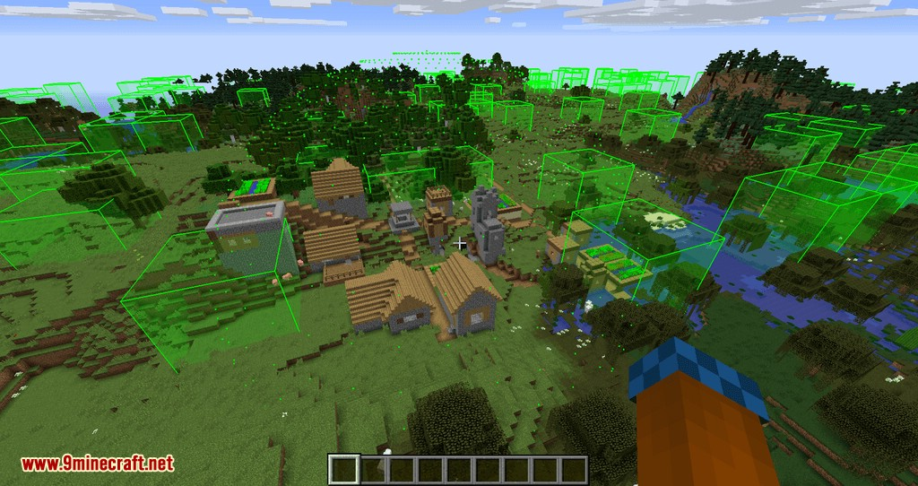 bounding box outline reloaded mod for minecraft 05
