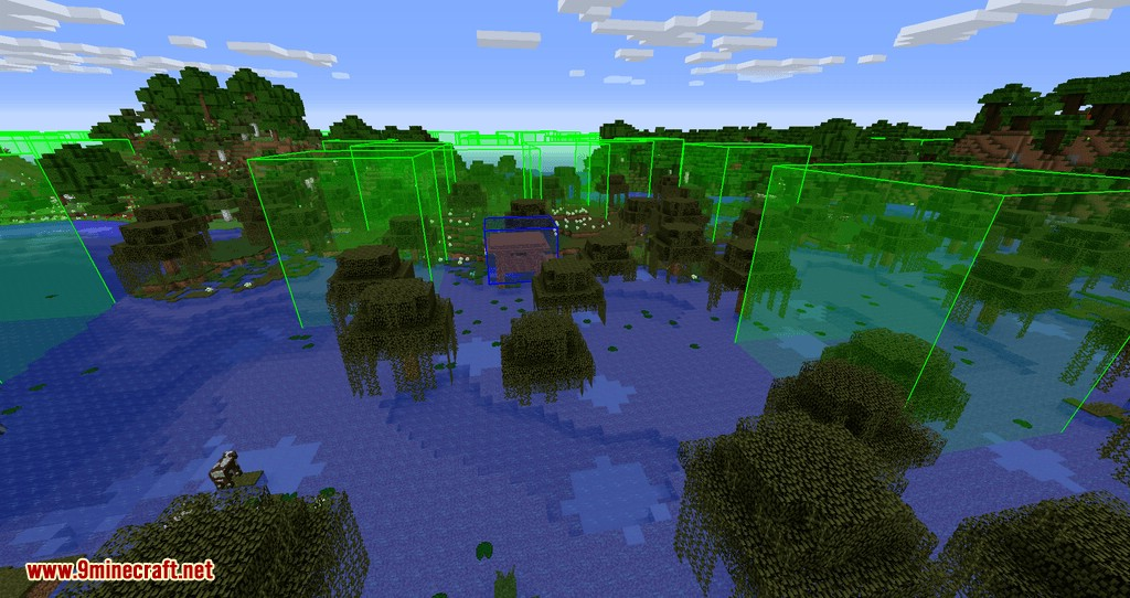 bounding box outline reloaded mod for minecraft 06