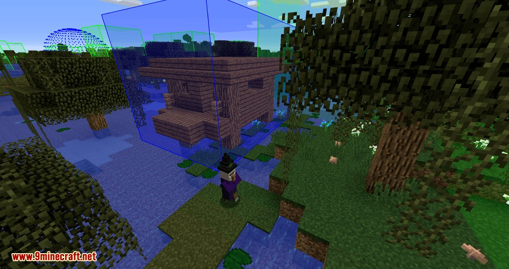 bounding box outline reloaded mod for minecraft 07