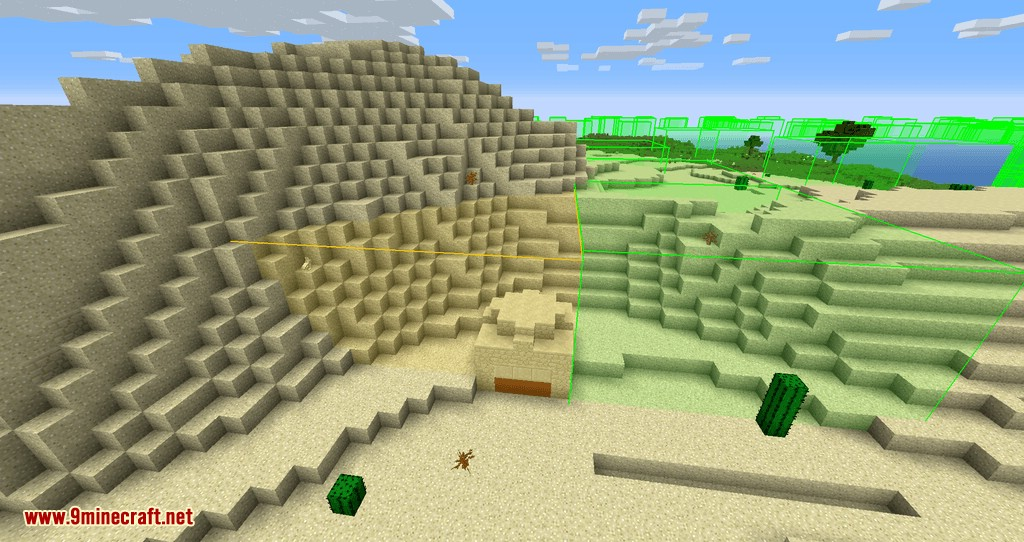 bounding box outline reloaded mod for minecraft 08